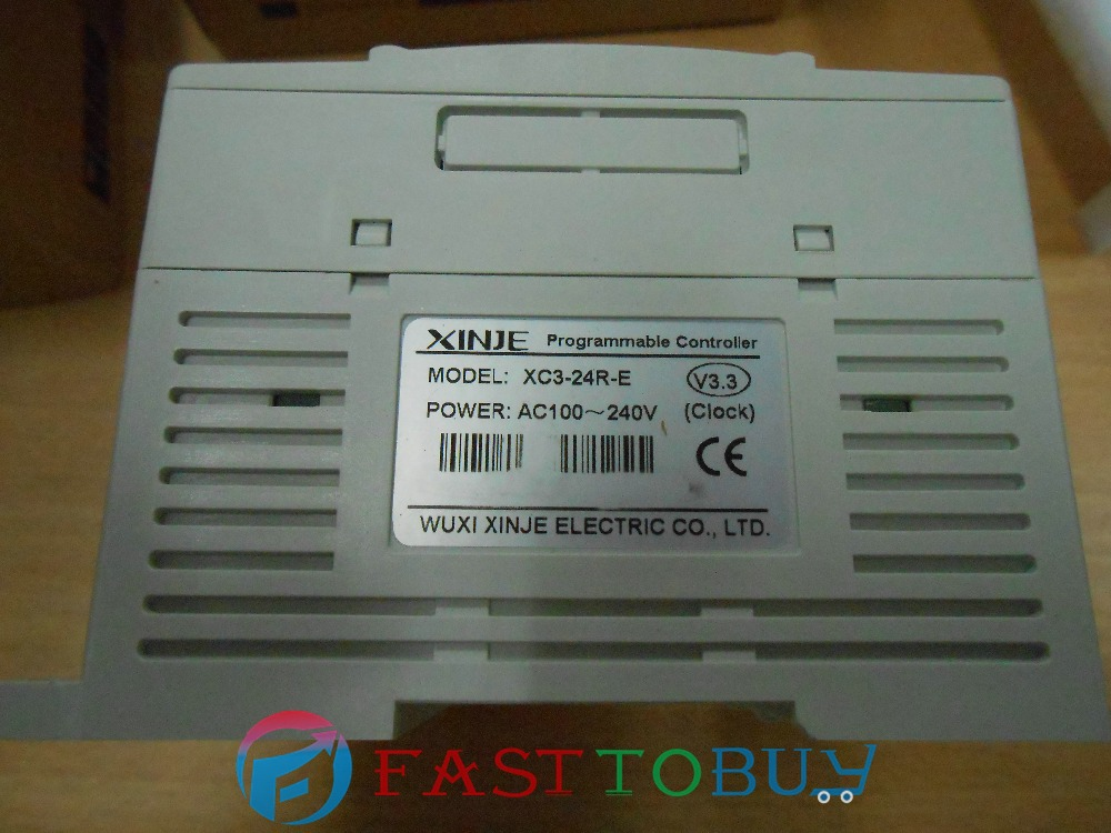 XC3 serie PLC XC3-24R-E 14-point NPN Inputs 10-point Relay Outputs AC220V New запчасти для принтера yinke sop8 dip8 2 so8 soic8 enplas ic 5 4 1 27 ic programming adapter page 7