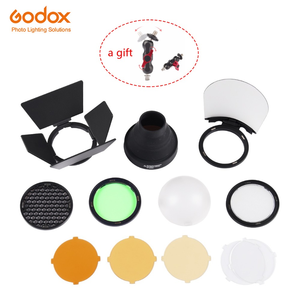 Godox AK R1 Accessories kit Compatible for Godox AD200 H200R Round Flash Head AD200 Accessories