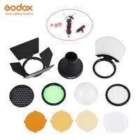 Godox Runde Kopf Flash AK R1 Zubehör kit  AK-R1 Mini Fotografie Ersatz Teile für Godox AD200 / H200R / Godox V1