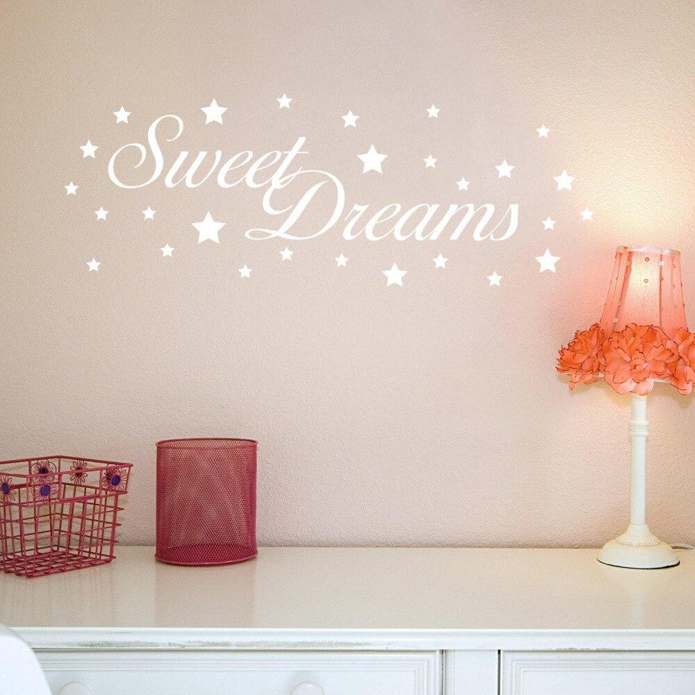 Baby Kinderzimmer Wandaufkleber Quotess Süße Traum Vinyl Wand ...
