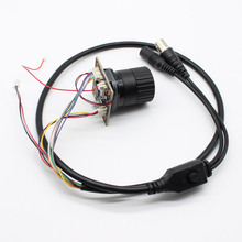 HD 1080 P Starlight NVP2441 + IMX307 4 в 1 AHD TVI CVI CVBS 2mp камера с модулем безопасности печатной платы, cs Объектив osd кабель