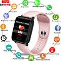 LIGE2019 Новый розовый умный браслет для женщин и мужчин фитнес часы пульсометр монитор кровяного давления умный спортивный браслет для iOS Android