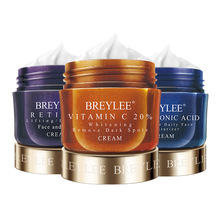 BREYLEE Face Cream Hyaluronic Acid Moisturizing Day Cream Retinol Anti Wrinkle Vitamin C Whitening Skin Care Acne Treatment 40g retinol treatment
