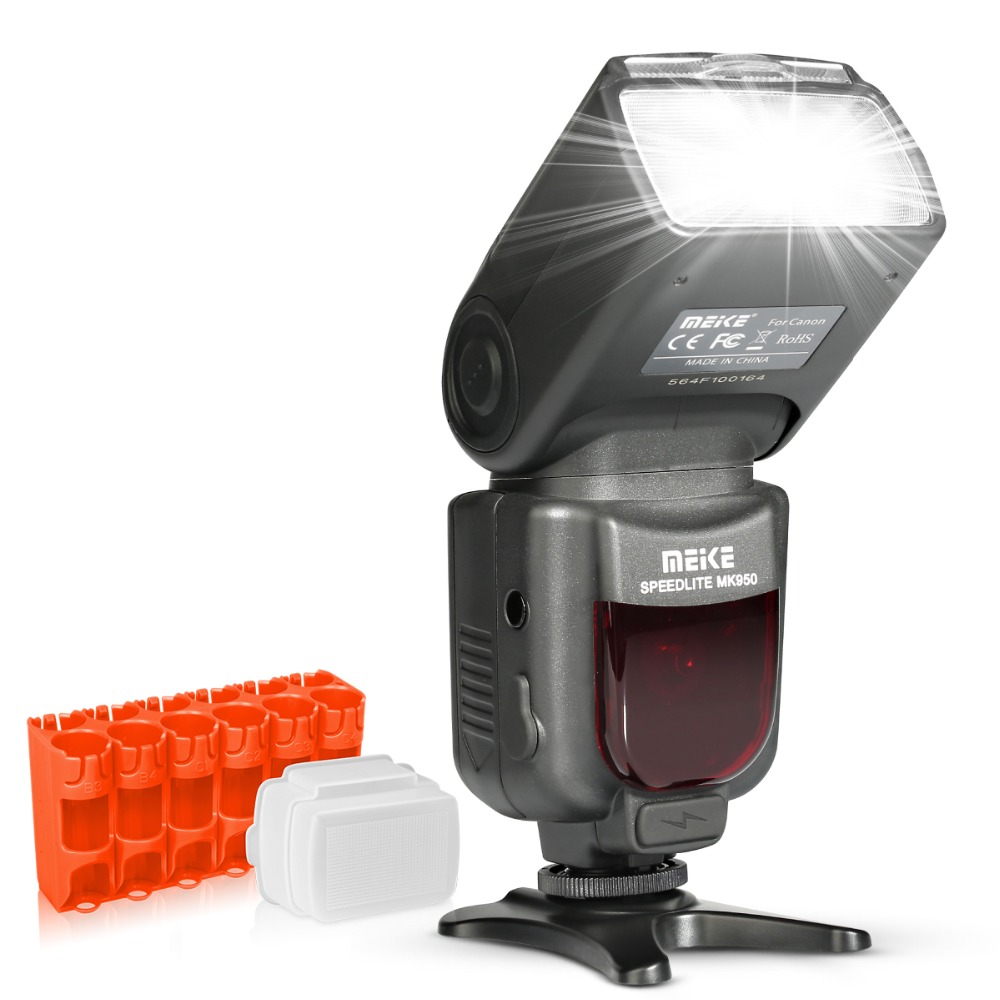 Meike MK950 E-TTL TTL Speedlite Flash de la Cámara mk950 para Canon EOS 5D II 6D 7D 50D 60D 70D 550D 600D 650D 700D 580EX 430EX