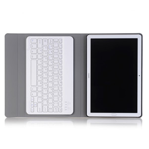 Image 3 - Luxury Keyboard Case for Huawei MediaPad M5 10 10.8 Leather Cover Stand Bluetooth keyboard Tablet Case for Huawei M5 Pro 10.8