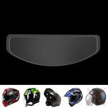 Motorcycle Universal Ultra Clear Easy Use Anti Fog Paster Patch Helmet Insert Film Shield Mist Visor Accessories Full-frame Rain