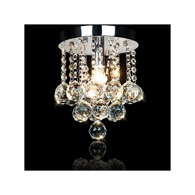 ФОТО Crystal Pendant Lights Corridor lamp light Modern Traditional lustres de cristal suspension luminaire