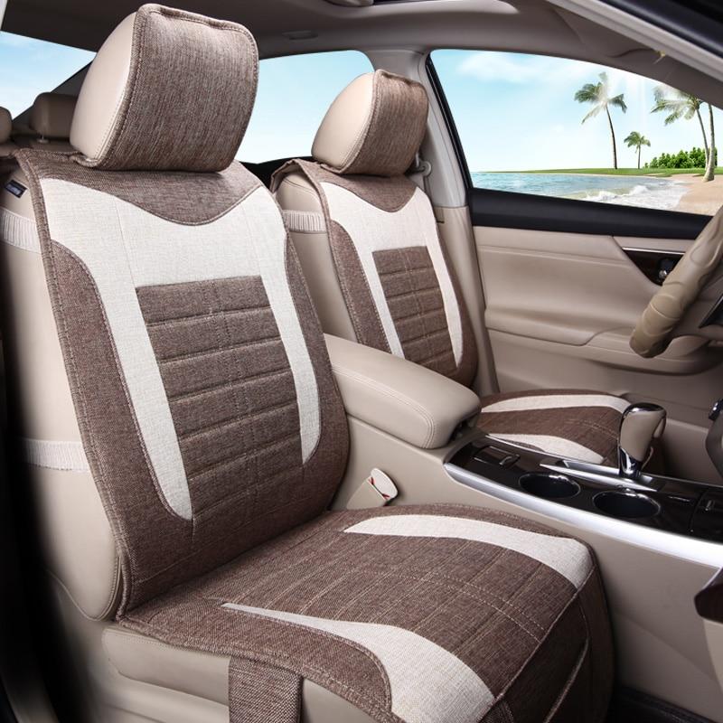 Волокна конопли сиденья дышащая Подушки для Toyota Prius Prado 150 120 Highlander Сиенна zelas Verso Mark X Корона