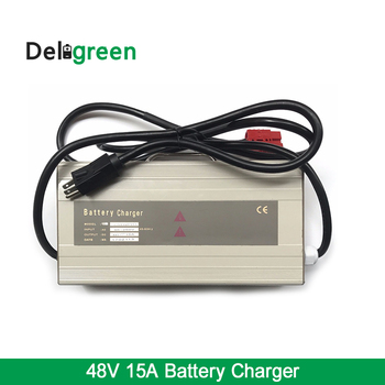 48V 15A Portable Small Universal Battery Charger for 16S Lifepo4, LTO, Lead Acid, Lipo 18650 DIY Pack Battery Packs With Handle