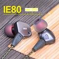 2016 Nova Professional Top Quality fone de ouvido me febre hifi IE80 DIY para MP3 music player fone de ouvido Fone De ouvido Com Cancelamento de Ruído
