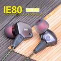 2016 Nuevo de alta calidad Profesional de alta fidelidad fiebre me BRICOLAJE IE80 auricular para MP3 reproductor de música en la oreja los Auriculares de Cancelación de Ruido