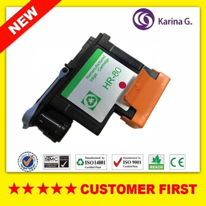 1PCS Magenta printhead for HP80 for Designjet 1000 1050c 1055cm Compatible HP 80 Ink Cartridge Head CA4822A комбинированная система для откачки масла lubeworks 10101141