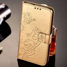 Fundas For Huawei P Smart Mate 10 Pro P9 Lite Mini P8 2017 Enjoy 7 7s Wallet Leather Phone Case Emboss Butterfly Cover P03G