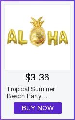 36 contagens tropical havaiano luau flor lei