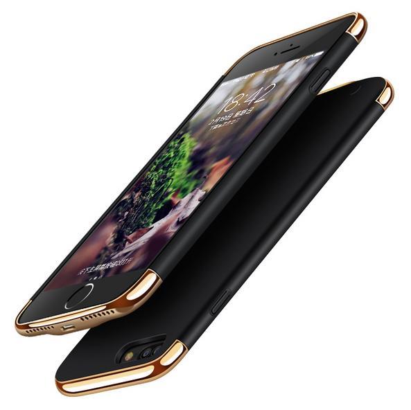 imágenes para 2500/3500 mah caso del banco de potencia portátil para iphone 6 6s 7 externa cargador de batería de reserva powerbank para iphone 6 plus 7 plus
