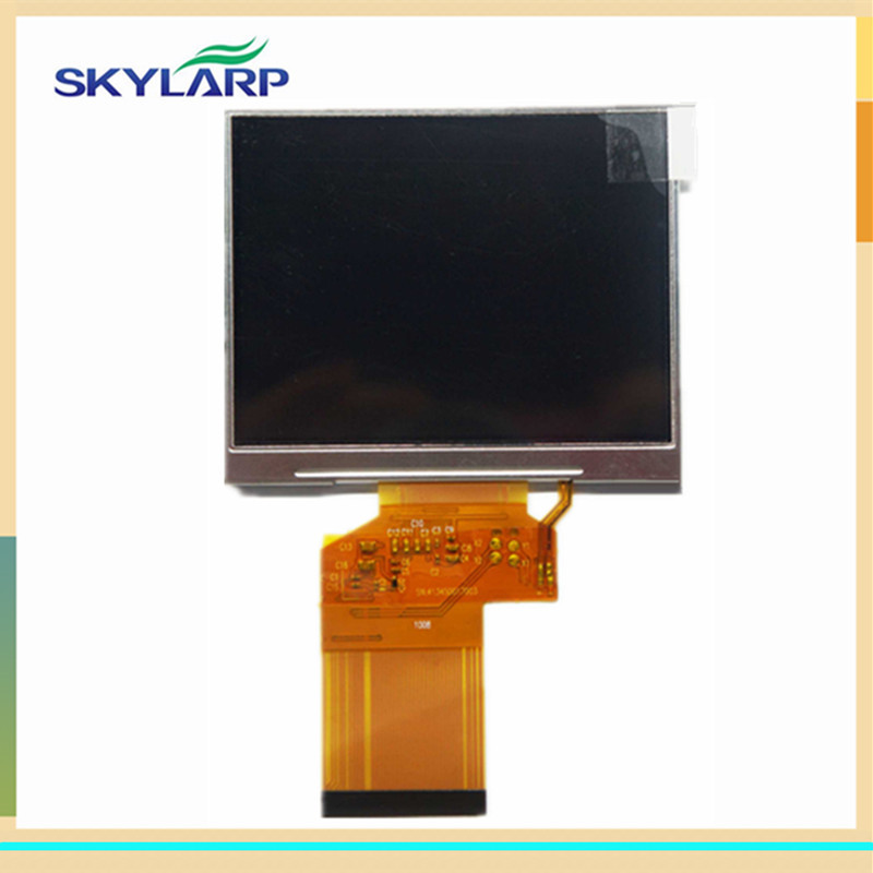 skylarpu 3.5 inch HD TFT for LQ035NC111 LQ035NC121 for Satlink WS-6906 WS 6906 Satellite Finder LCD Screen panel (without touch) satlink ws 6922 rechargeable 3 5 color screen hd satellite finder w av usb black