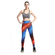 New Sexy Yoga Pants Women Leggings Elastic Gym Fitness Workout Running Tights Compression Trousers