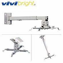 VIVIBRIGHT Adjustable Projector Bracket, Loading 5KG. Support Wall Hanging, Ceiling Mount. Projector Holder