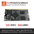 FirePrimeS CoreBoard  - Quad-Core Cortex-A7 Processors , RK3128 , Support  Ubuntu15.04 and Android5.1