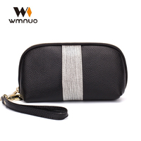 Wmnuo Women Shell Small Bag Cow Leather Lady Clutch Bag Handbags Female Evening Bag Fashion Women Wallet Coin Purse Phone Bag