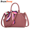 RoyaDong Women's Handbags Designer Scarf Shoulder Bag Ladies Lady's Tote Shoulder Bags 2017 New Bag