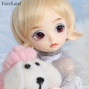 Image 3 - Sprookjesland Realfee Luna 19cm bjd sd pop 1/7 body model Hoge Kwaliteit speelgoed winkel ShugoFairy pruiken Mini pop luodoll