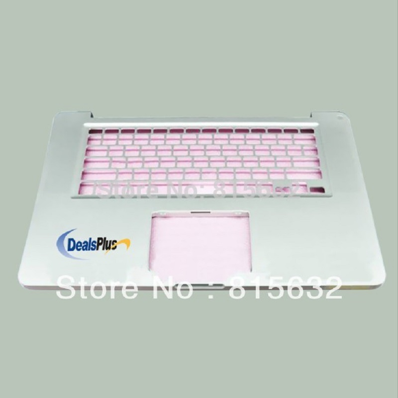 New FOR Macbook Pro A1286 US Top case & No trackpad & No keyboard 2011 a1286 top case for apple macbook pro a1286 top case with us keyboard for 2008