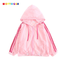 WOTTAGGA 2019 Brand Designer Baby Boy Summer Sun Proof Clothing Girl Thin Coat