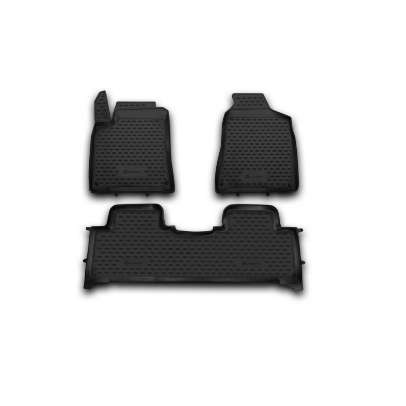 цена на Mats in the salon For SSANG YONG New Actyon 2010-> 3 PCs (polyurethane)