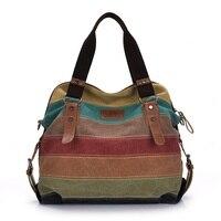 High Quality Fashion Messenger Bags Canvas Super Patchwork Travel Crossbody Canvas Bag Shopping Tote Handbag Casual