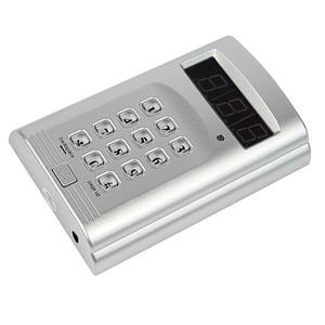 Image 2 - 1 個キーボードトランスミッタ + 4 個の時計受信機ページャワイヤレスコースター呼び出しシステムホテルウェイターレストランシステム