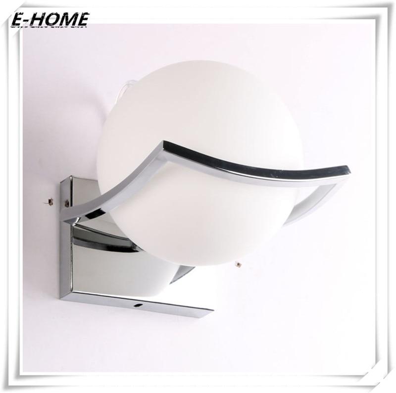 ФОТО Modern Style White Iron Wall Lamp Foyer Wall Light Dining Room Wall Light Loft Wall Lamp Free Shipping