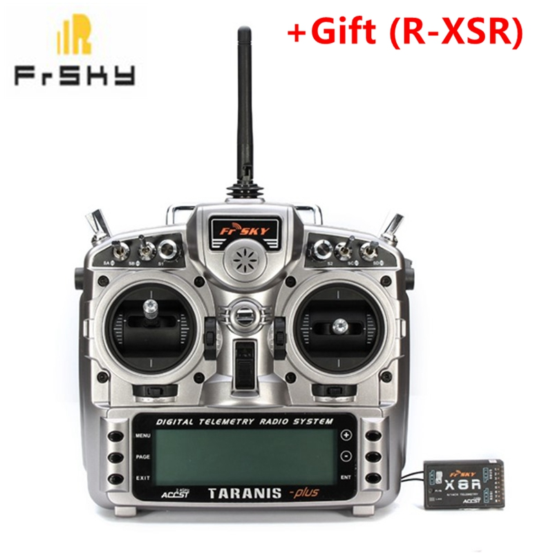 FrSky Taranis X9D Plus 2 4G ACCST Transmitter With X8R R XSR Receiver For RC Multicopter