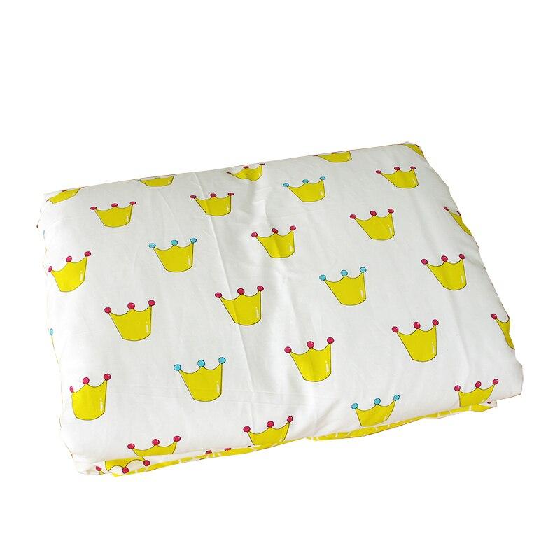 100*120 Cm Weiche Baby Quilt Abdeckung Für Mädchen Und Jungen Baumwolle Krippe Bettwäsche Kit Cartoon Baby Bettwäsche Bettbezug Ohne Füllstoff Wasserdicht, StoßFest Und Antimagnetisch