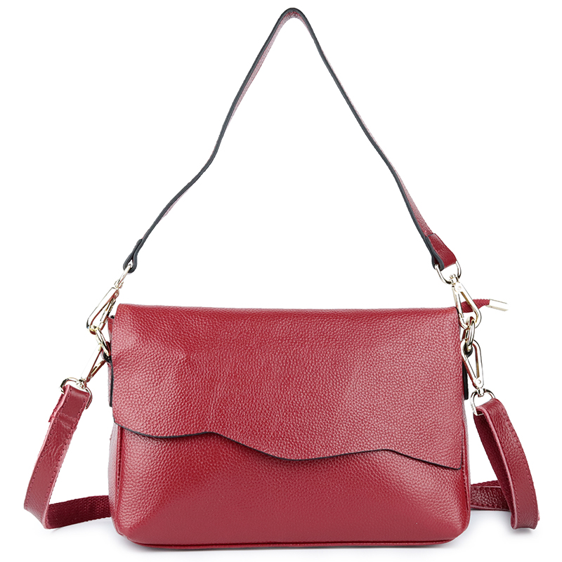 New Arrivals Genuine Leather Cover Style Women Handbags Fashion Brand Women's Messenger Bags European And American Woman Totes