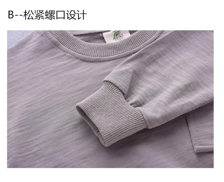 2pcs Sets 2017 Spring Baby's Sets Boys Camisetas de manga larga + - Ropa de ninos - foto 5