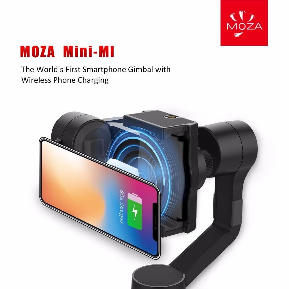 Stabilisateur de cardan Moza mini-mi Vlog 3 axes pour Smartphone iphone/8/7/7 Plus/6, caméra d'action Huawei Samsung Galaxy & Gopro - 2