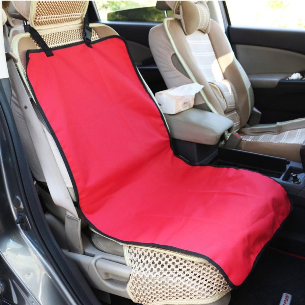 Blue Car Seat Covers Protectors Universal washable Dog Pet full set front rear E