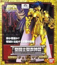 Bandai versão japonesa de saint seiya 1.0 versão antiga ouro saint saga gemini metal mito
