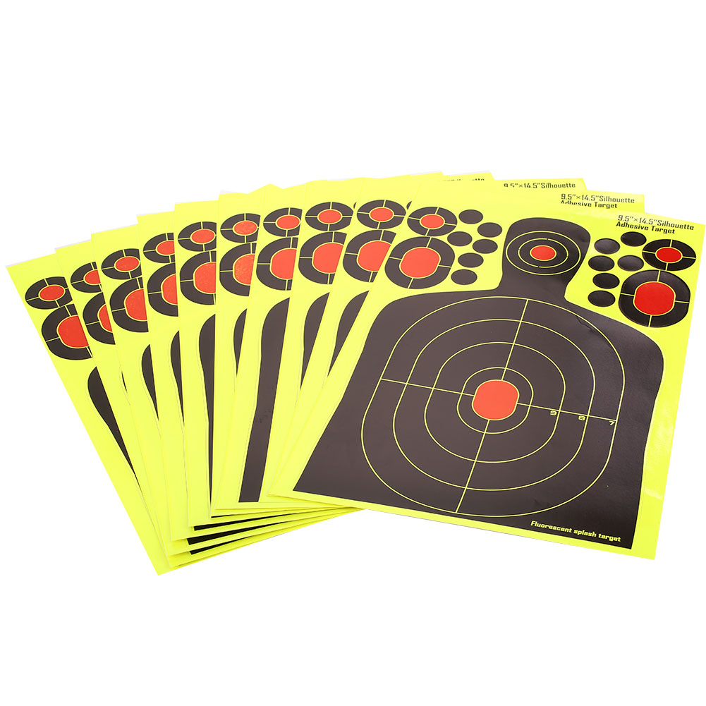 Yellow Hunting Bow Economic Shooting Target Archery Hunter Rifle Practice Outdoor Training Paper Dropshipping Shotgun