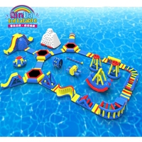 Outdoor Giant Inflatable Water Park for Kids and Adults