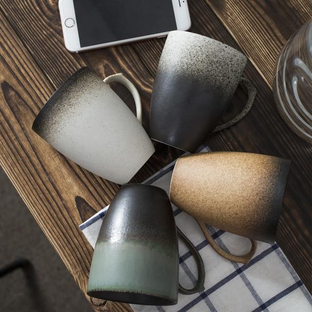 Vintage Tee Tasse Retro Stil Keramik Tasse Kaffeetasse, Home Office ...