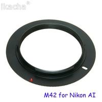 M42 металлический адаптер для объектива винтовое крепление кольцо для объектива для Canon EOS для Nikon AI для Sony AF для Pentax PK аксессуары для объектив... 2