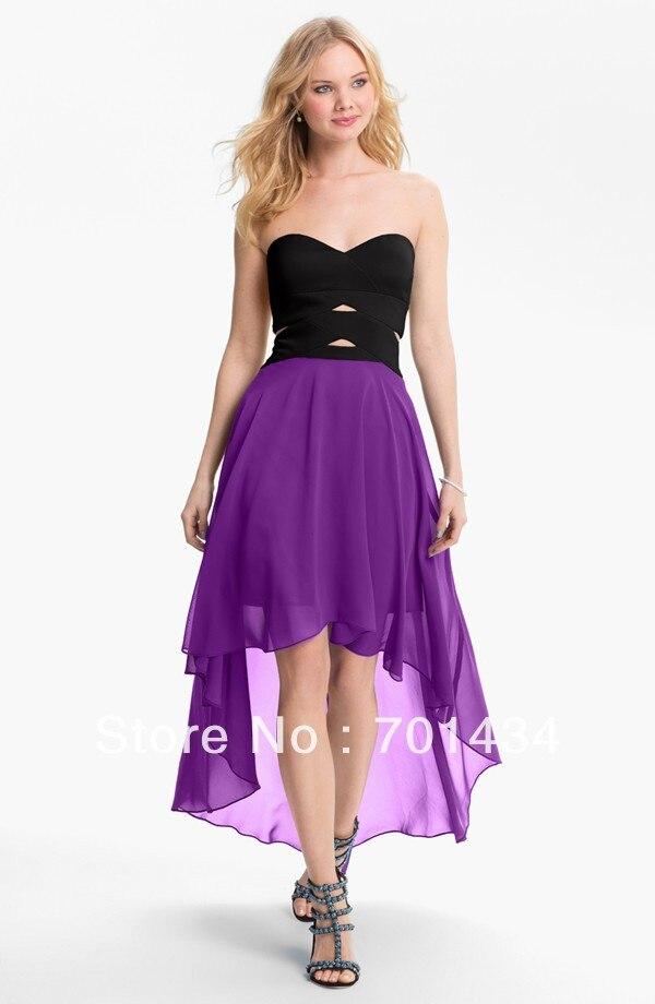 Aliexpress.com : Buy Free shipping hot design high low prom dress ...