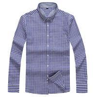 Plus Size 8XL 7XL Men S Flannel Plaid Shirts Dress 2018 Male Casual Warm Soft Comfort