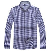 Plus Size 8XL 7XL Men S Flannel Plaid Shirts Dress 2018 Male Casual Warm Soft Comfort