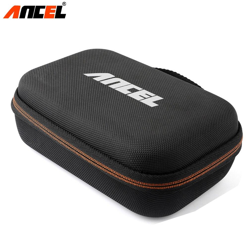 Ancel Fall Passt Für OBD2 Scanner Universal Auto Motor Diagnose Werkzeug Nylon Zipper Tragbare Tasche Für Ancel AD310 AD410 Paket