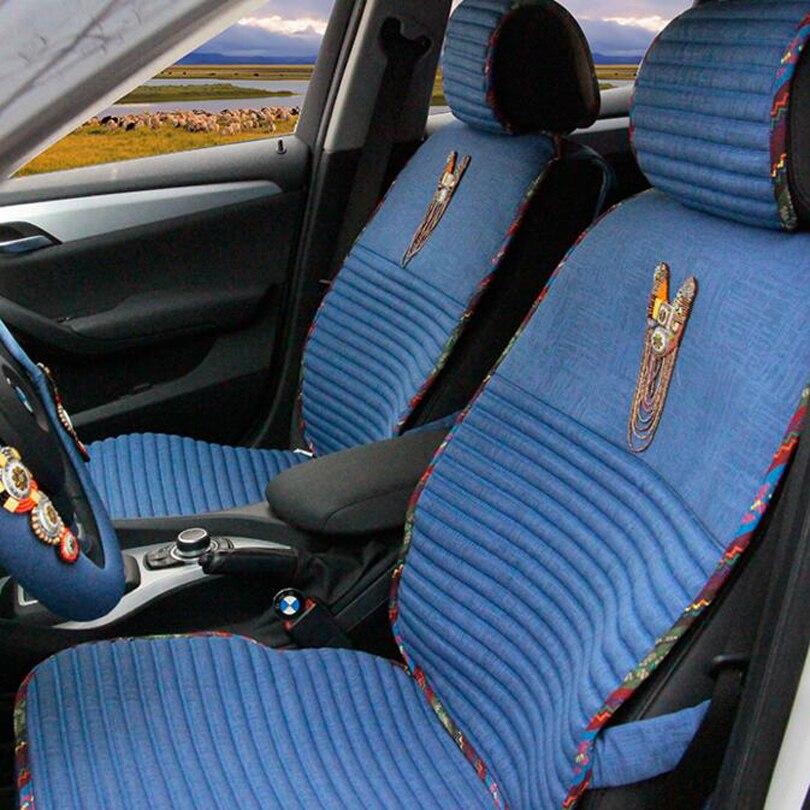 Lujo Bohemia Style Bead Fundas de Asiento de Coche Universal Mujeres - Accesorios de interior de coche - foto 3