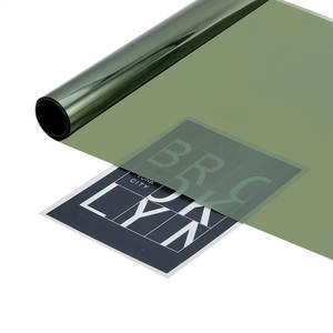 Window Tint Film 50*300cm Car Sticker Heat insulation Protection UV Tinting For Side Window Sun Visor