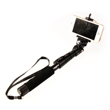 Top Quality YunTeng 088 Monopod For Gopro Selfie Stick Monopod Tripod+Phone Holder For iPhone Gopro Hero Camera HD